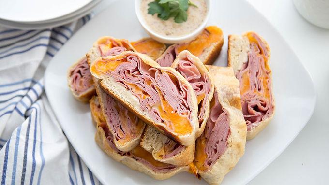 Game Day Sandwich Slices