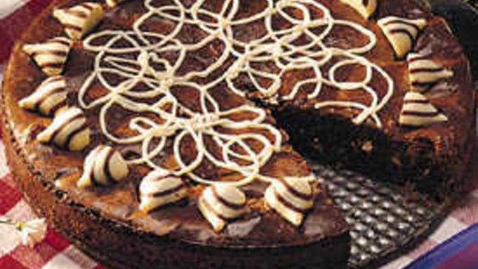 White Candy Brownies