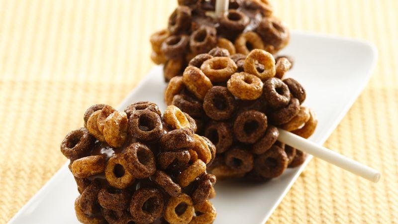 Chocolate Hazelnut Marshmallow Balls
