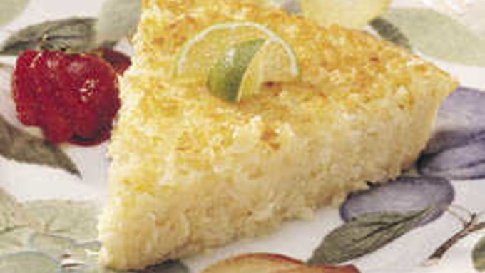 Heart Smart Impossibly Easy Coconut Pie