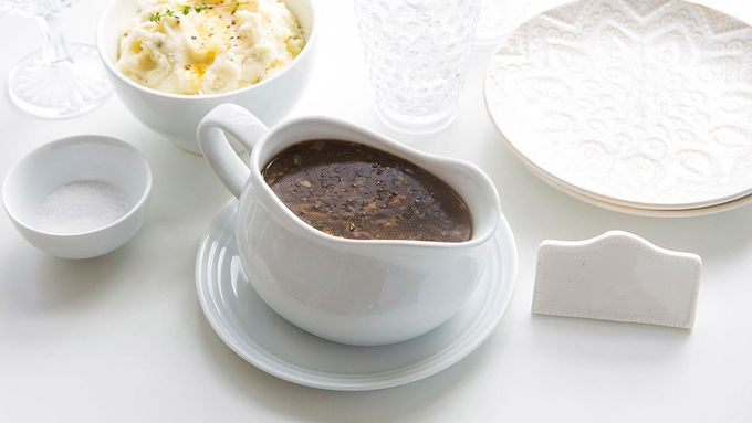 Vegetarian Gravy Even Meat Lovers Will Obsess Over