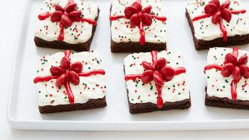 Easy Christmas Present Brownies