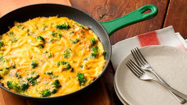 Cheesy Broccoli Frittata