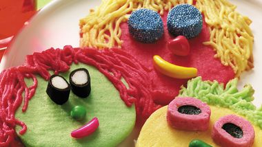 Funny Face Cookies