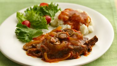 Slow-Cooker Smothered Swiss Steak