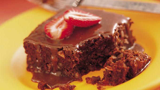 Strawberry-Fudge Brownies