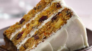 Carrot-Cranberry Cake