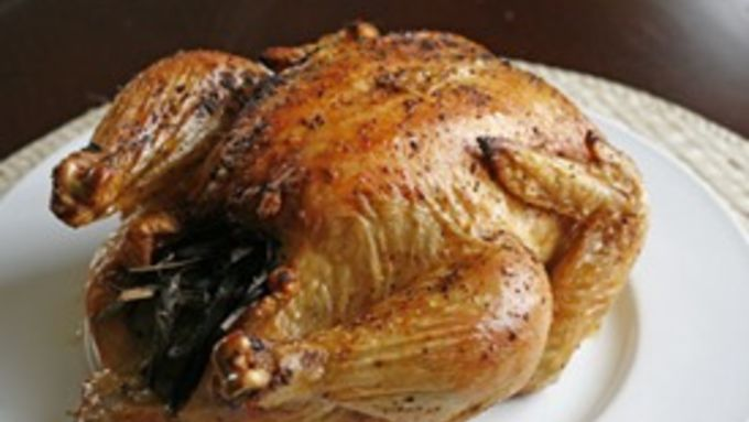 Roasted Lime Herb Chicken