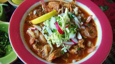 Chicken and Shrimp Pozole