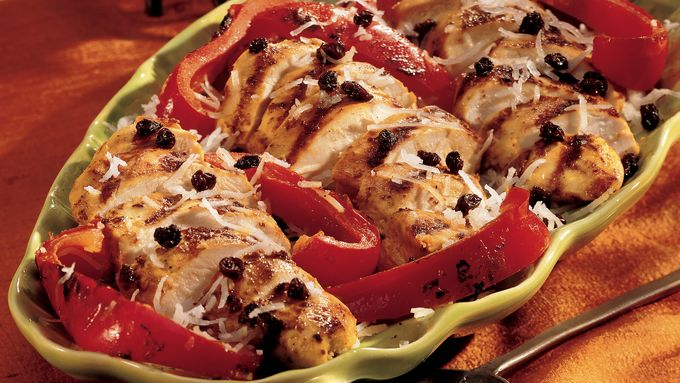 Grilled Indonesian Chicken Breasts