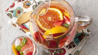 Strawberry Tequila Sangria
