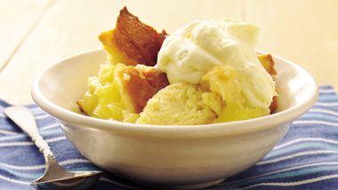 Lemon Bread Pudding