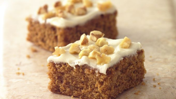 Whole Wheat-Applesauce Bars