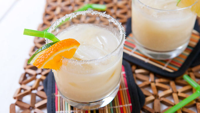 Coconut Creamsicle Margarita
