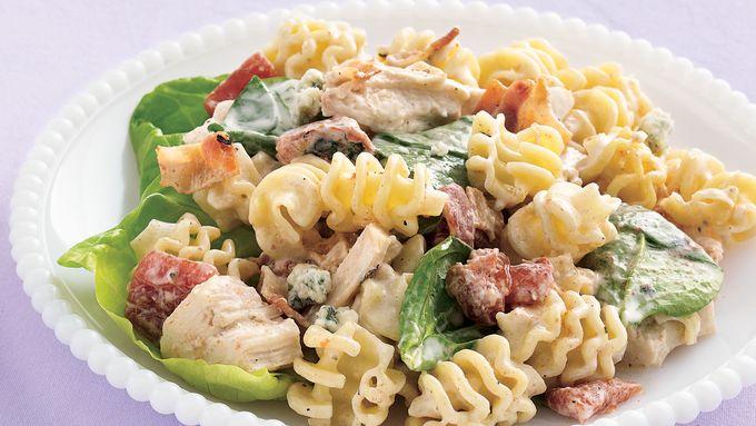 Chicken-Gorgonzola Pasta Salad