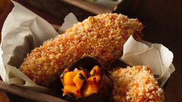 Lomitos de Pollo con Chiles y Mango