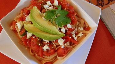 Mexican Style Pasta Marinara