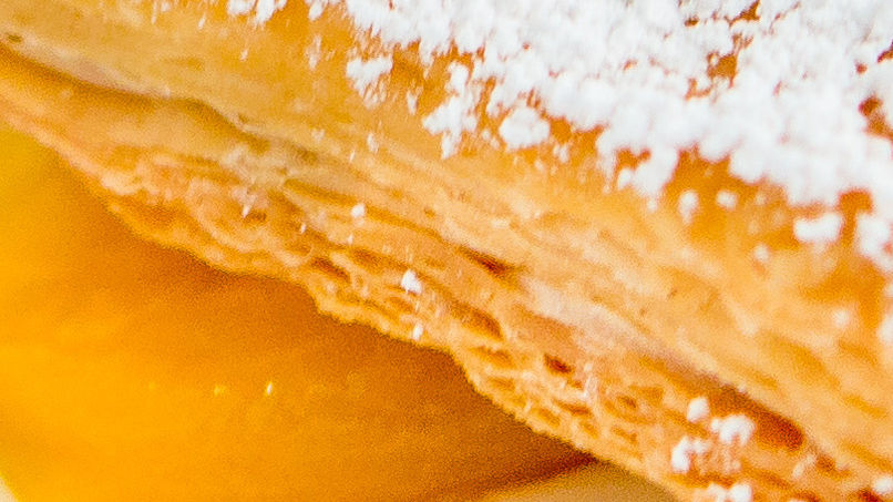 Milhojas de Melocotón