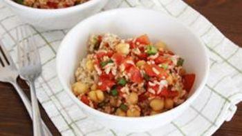 Chickpea-Cumin Rice Bowls