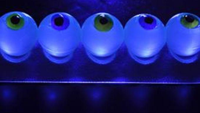 Glow-in-the-Dark Eyeball Jello Shots