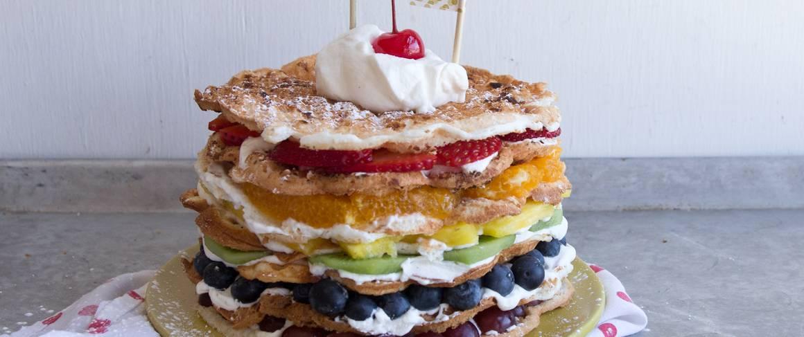 angel food waffle shortcake recipe from betty crocker