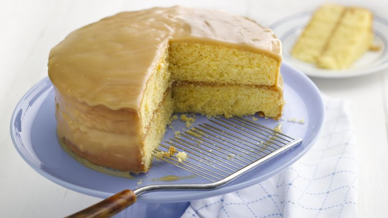 Golden Caramel Cake