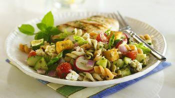 Fattoush Pasta Salad