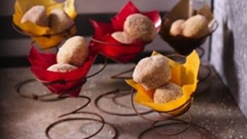 Indian Spiced Mini Donut Muffins