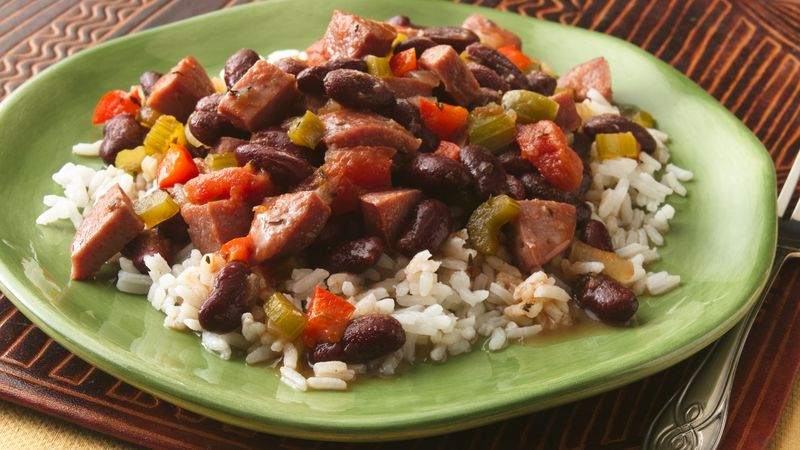 Red Beans and Rice (Makeover)