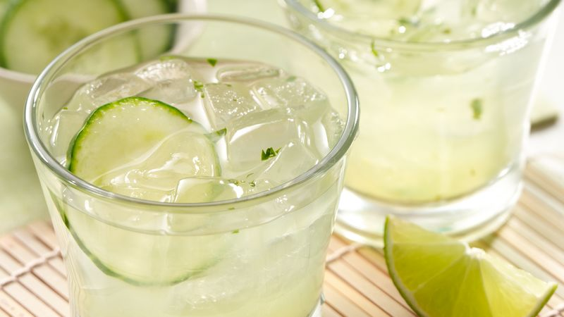 Cucumber Cilantro Margarita recipe from Betty Crocker