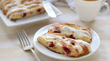 Cranberry-Orange Danish Braid