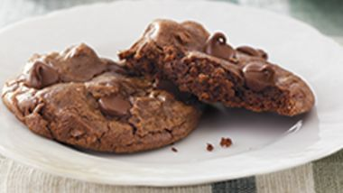 Fudgy Brownie Cookies
