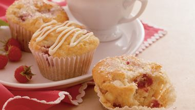 Raspberry-White Chocolate Muffins