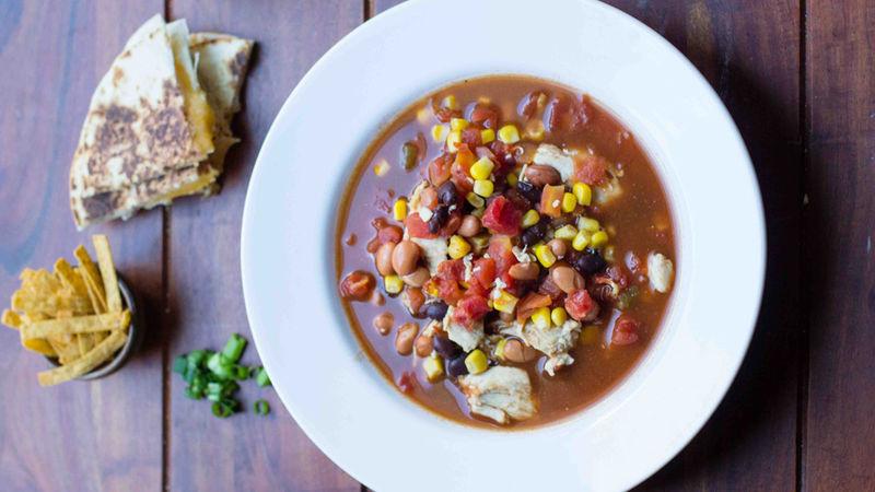 Dump-It Tex-Mex Soup