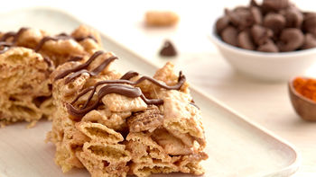 Gluten-Free Mexican Hot Chocolate-Cereal Bars