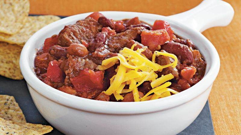 Slow-Cooker Beef and Beer Chili recipe - from Tablespoon!