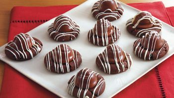 Chocolate Covered Cherry Cookies