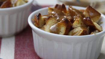 Caramel Roll Bread Pudding
