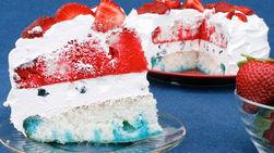 4th of July Gelatin Cake