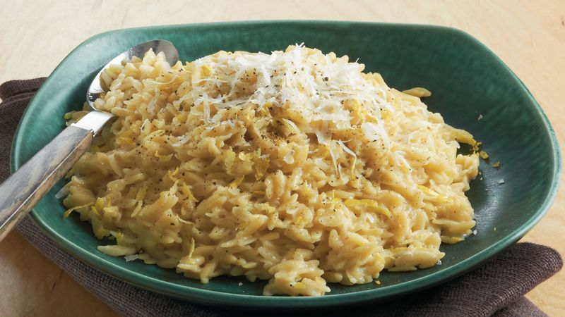 Lemon Orzo