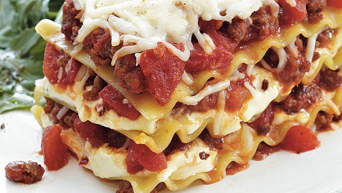 Mummy Wrap Lasagna