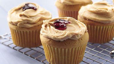 PB & J Cupcakes