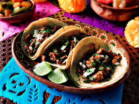 Day of the Dead Beef Tacos