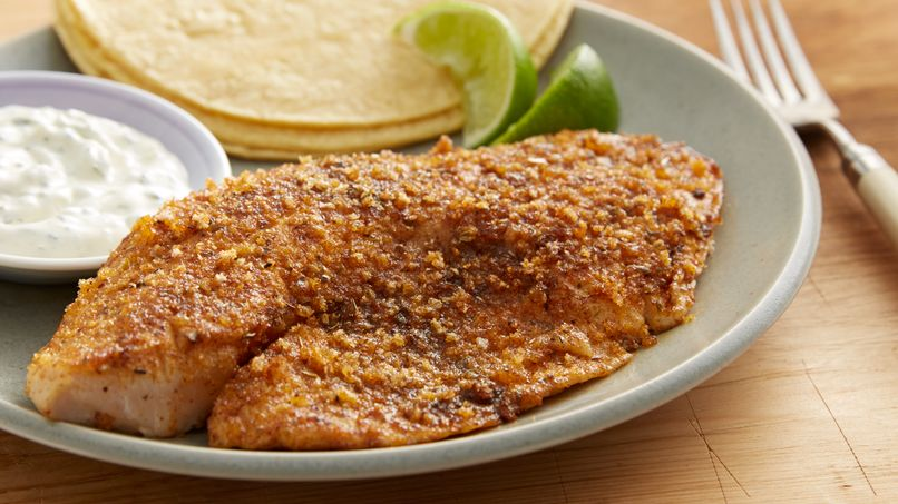 Spicy Tilapia with Serrano Aioli