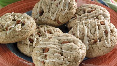 Glazed Cinnamon-Mocha Cookies