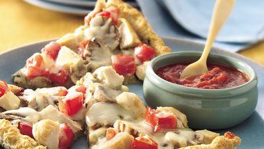 Chicken and Veggie Pizza