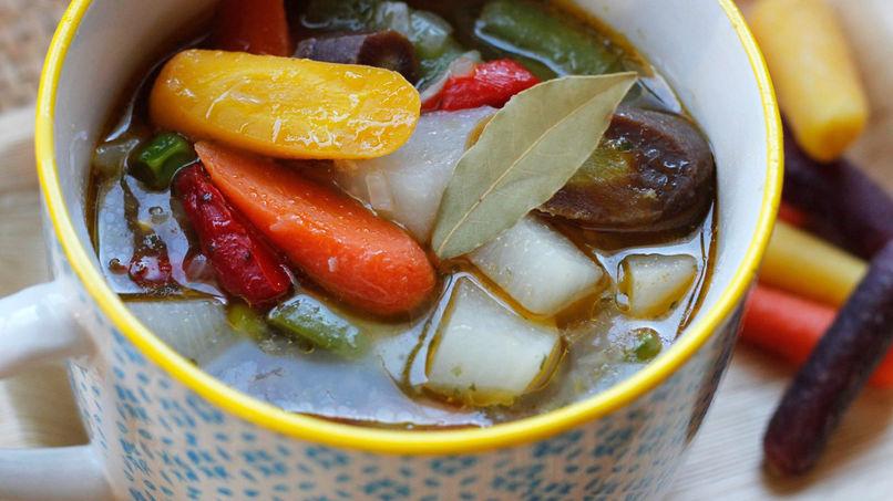 Turnip and Ham Soup