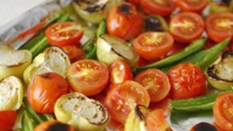 Roasted Tomatillo and Tomato Salsa