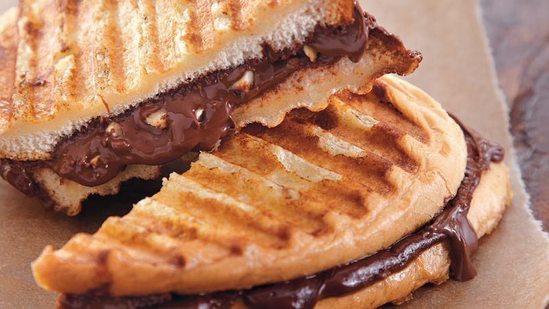 Chocolate French Toast Panini