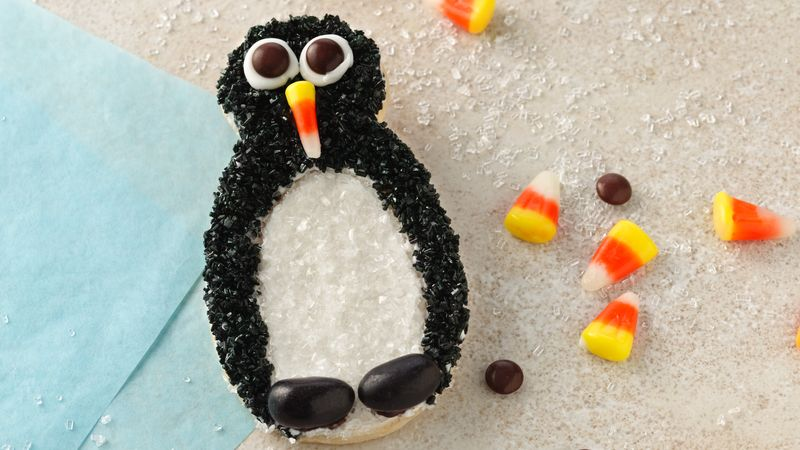 Holiday Penguin Cookies
